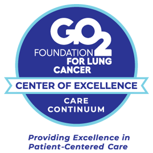 GO2 Foundation Care Continuum Center of Excellence badge